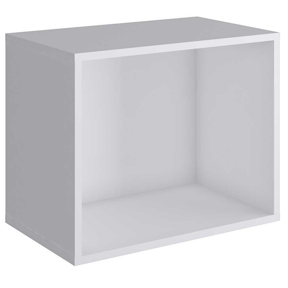 Nicho Cubo 38x50cm Branco KD1565 Quiditá