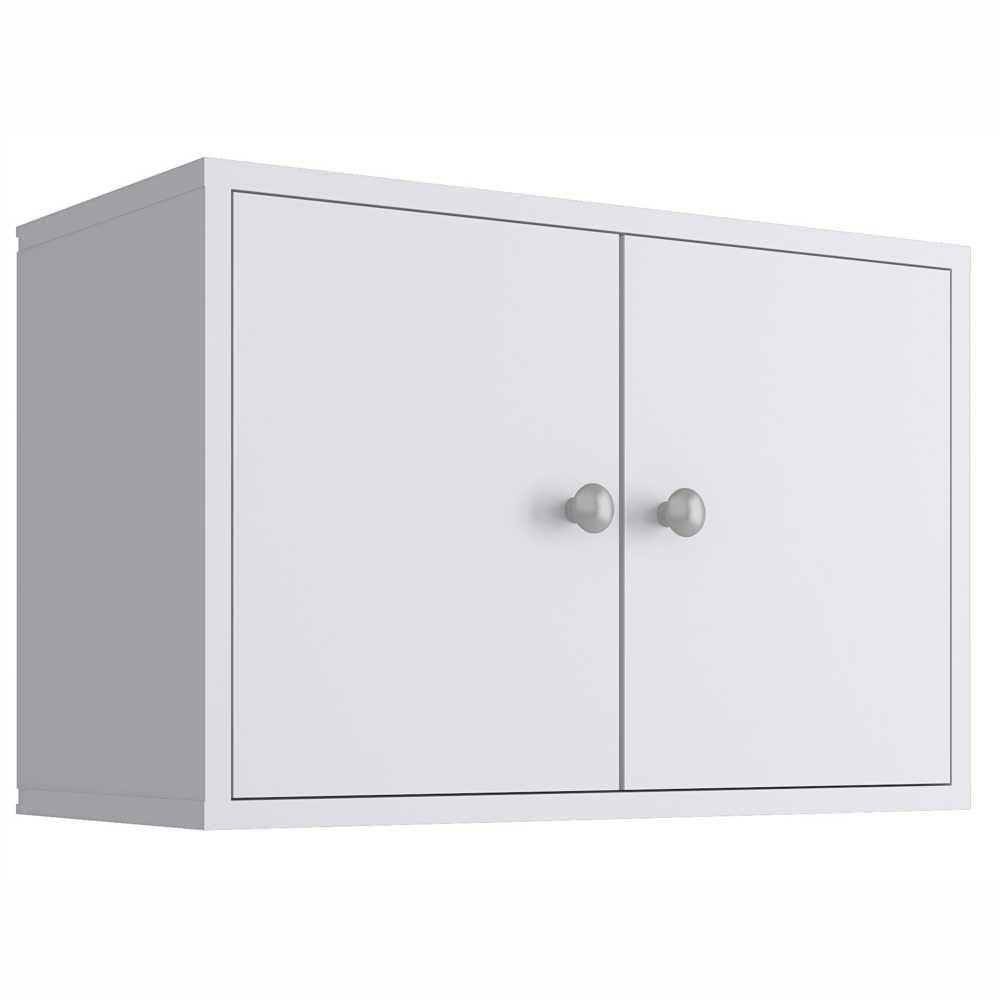 Nicho Cubo 53x35cm com Portas Branco KD1540 Quiditá