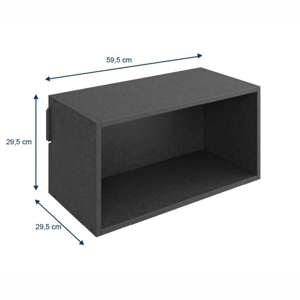 Nicho Grande de Parede 59cm 1003 Carbono Mov BE Mobiliário