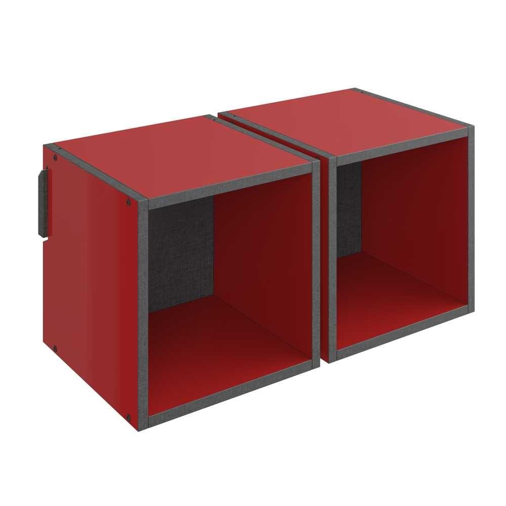Nicho Pequeno Duplo 59cm 1004 Colorido Mov BE Mobiliário