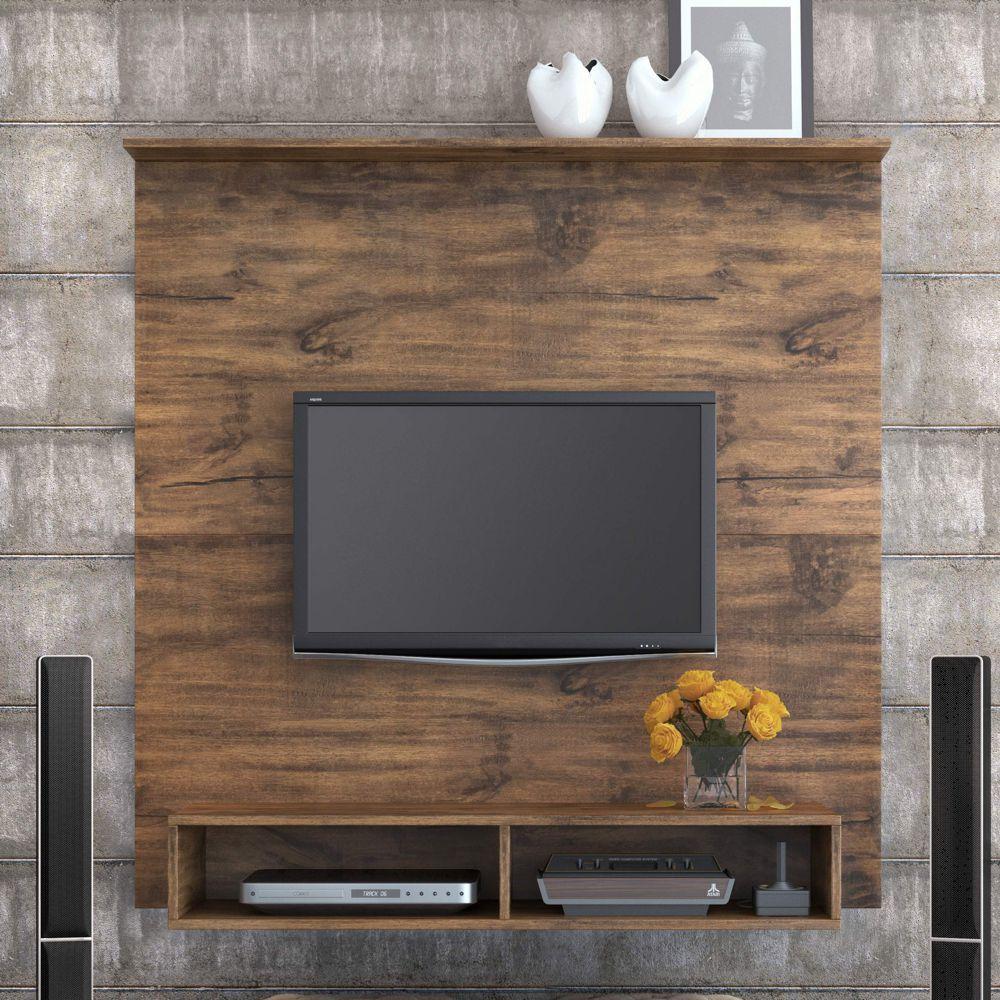 Painel para TV Suspenso 120cm com Nicho PA11 Dalla Costa