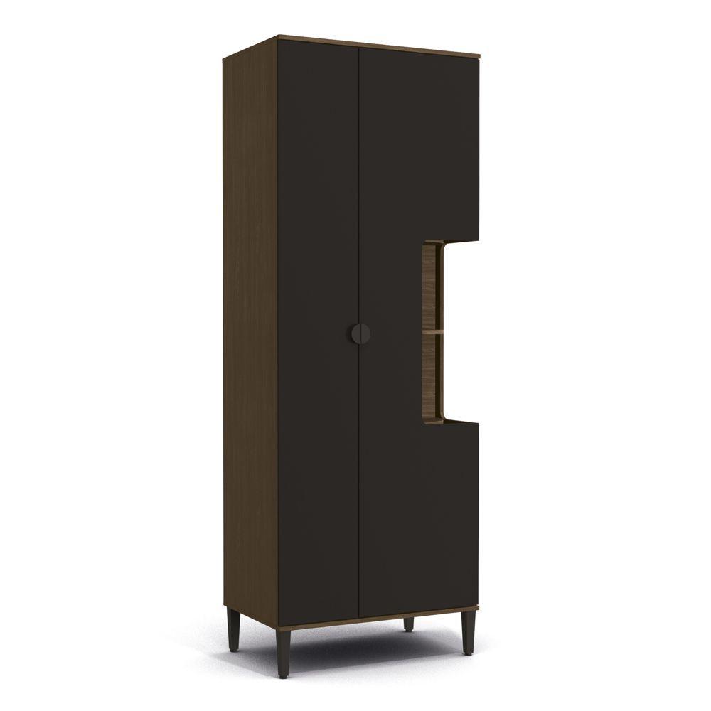 Paneleiro 80cm 2 portas Prateleiras POP PO016 Kappesberg