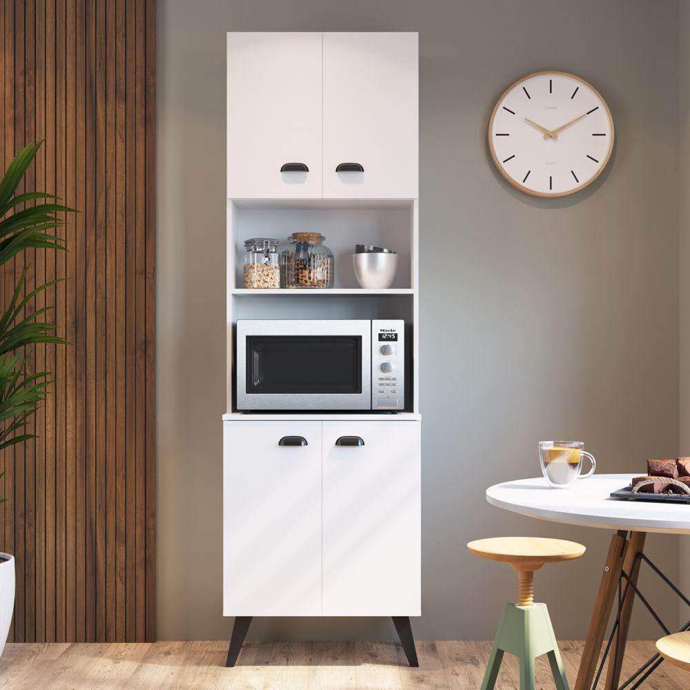 Paneleiro com espaço para forno 61,2cm 4 portas Retrô MIA600 Mia Coccina