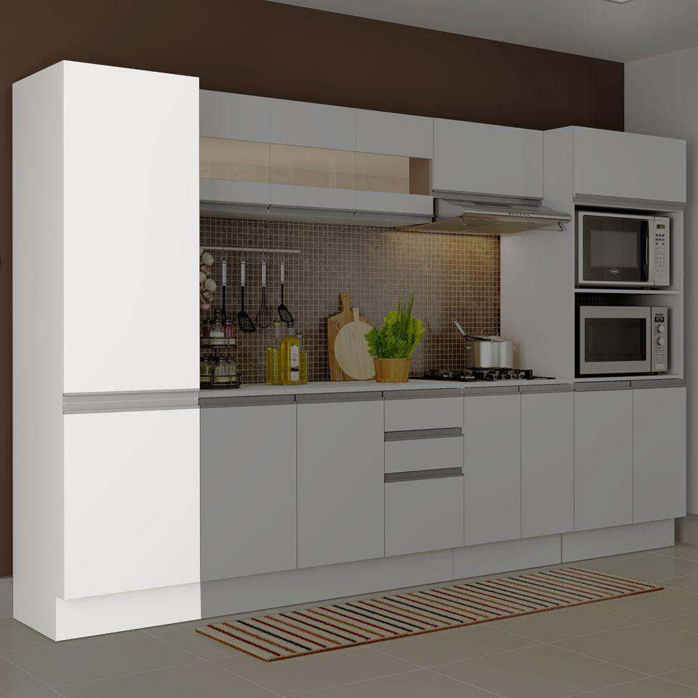 Paneleiro de Cozinha Smart 100% MDF 2 Portas G26500 Madesa