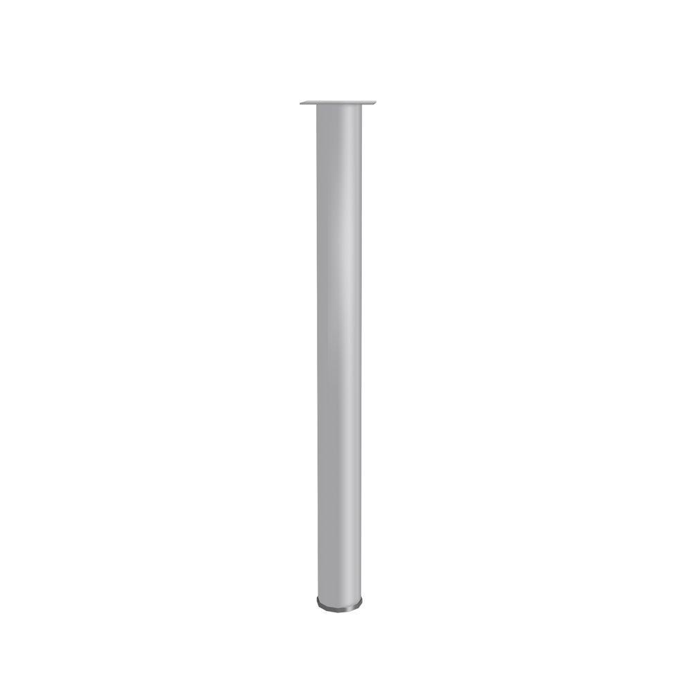 Pé Metálico para Mesa de Escritório 72cm PE110 Versátil Kappesberg