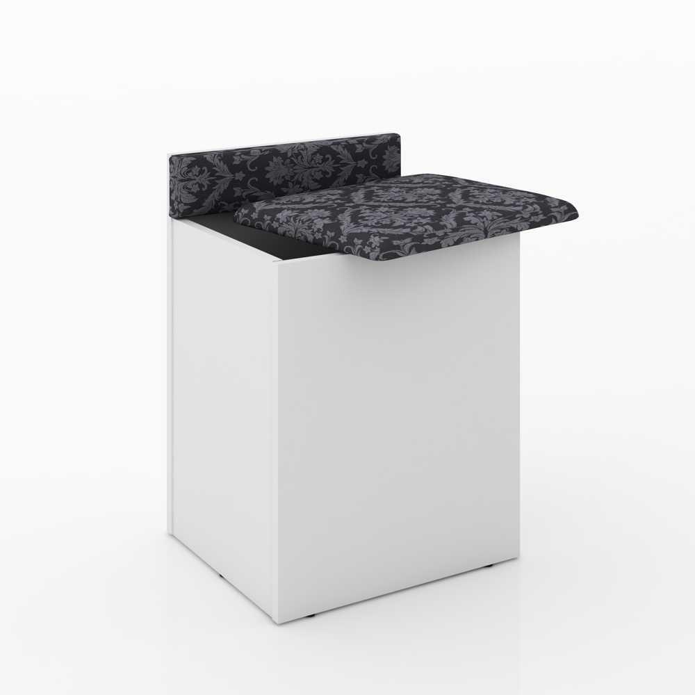 Puff Box Baú com Assento Estofado PU2052 Tecno Móbili