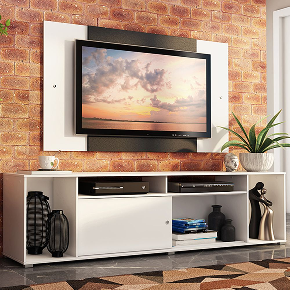 Rack Cancun e Painel para TV até 58 Polegadas MDES020024 Madesa