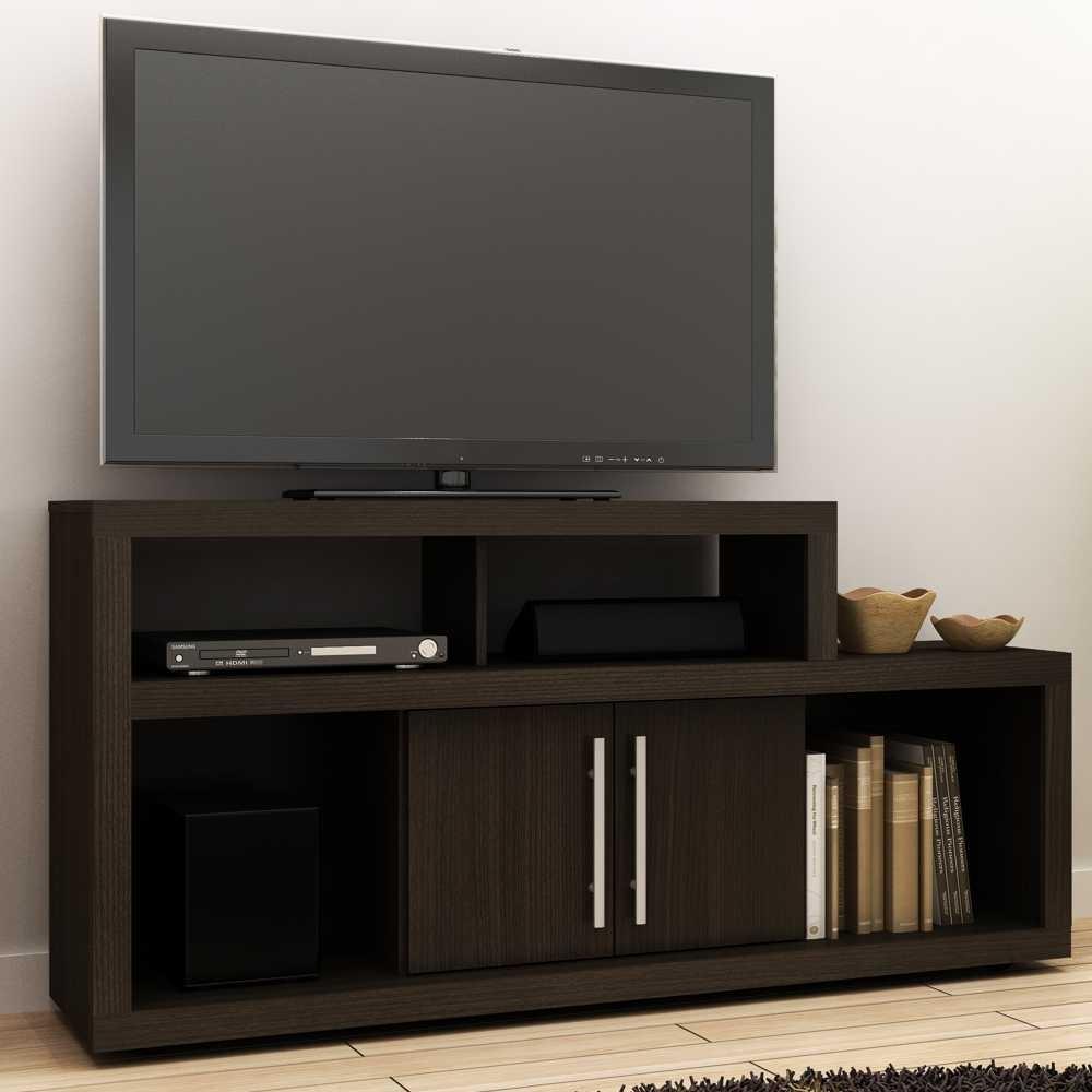 Rack para TV 1,45m 2 Portas R1450 Tecno Móbili
