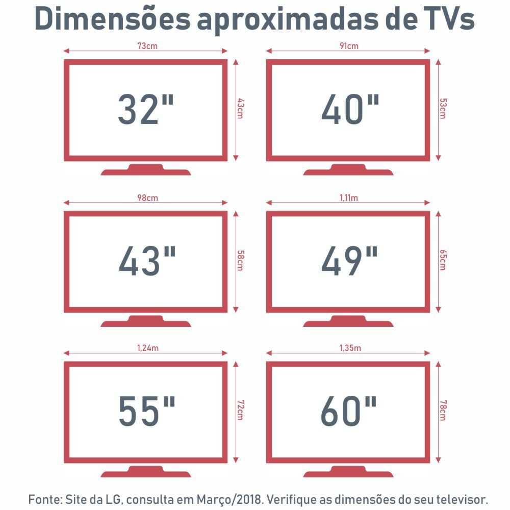 Rack para TV Retrô Pés Palito 1,60m 3 Gavetas Neon 6002 Madesa