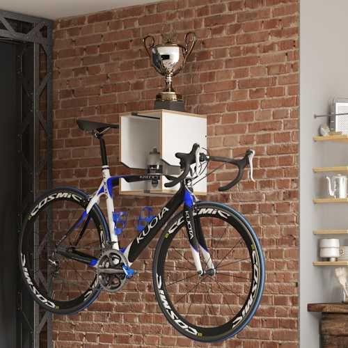 Suporte Bike Nicho Multifuncional Colorido Easy BE Mobiliário