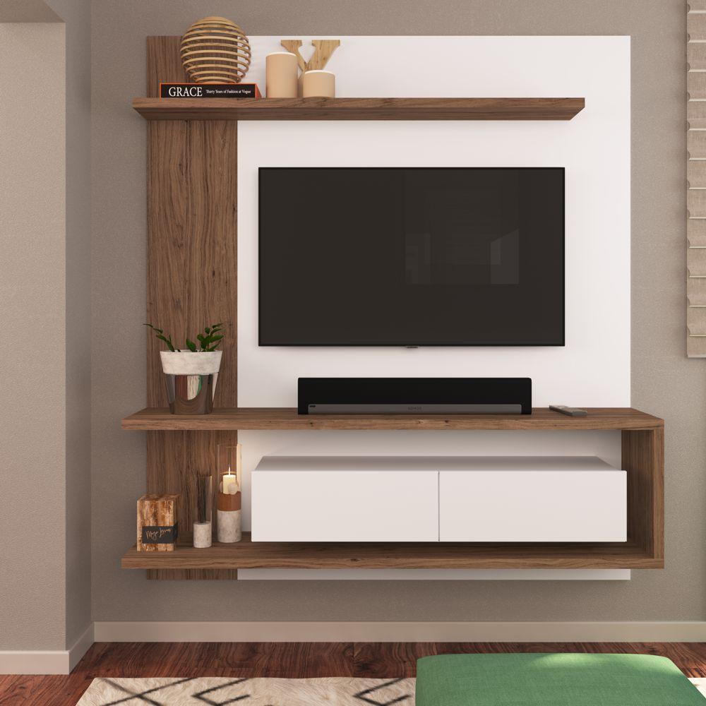 Painel Estante Home Para TV 50'' 1,60x1,80m EST203 Estilare