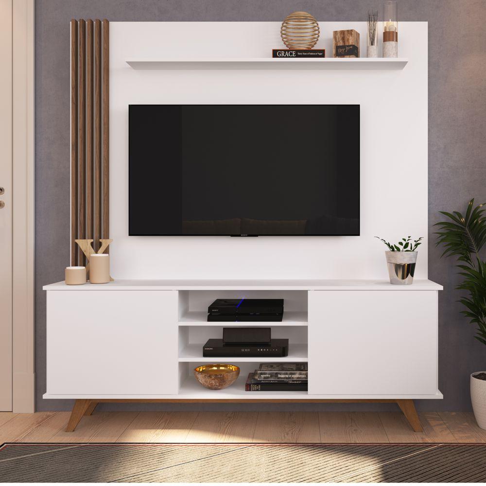Rack Painel Estante 1,60m Para TV 50 '' Disco Home07 Estilare