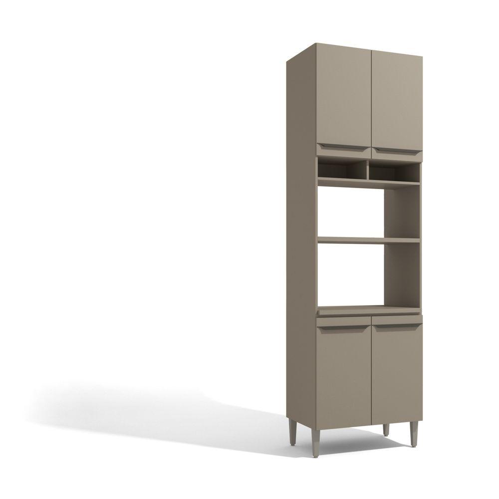 Torre de Forno para Cozinha Modulada 70cm 4 Portas 2 Nichos Versa L826 Kappesberg