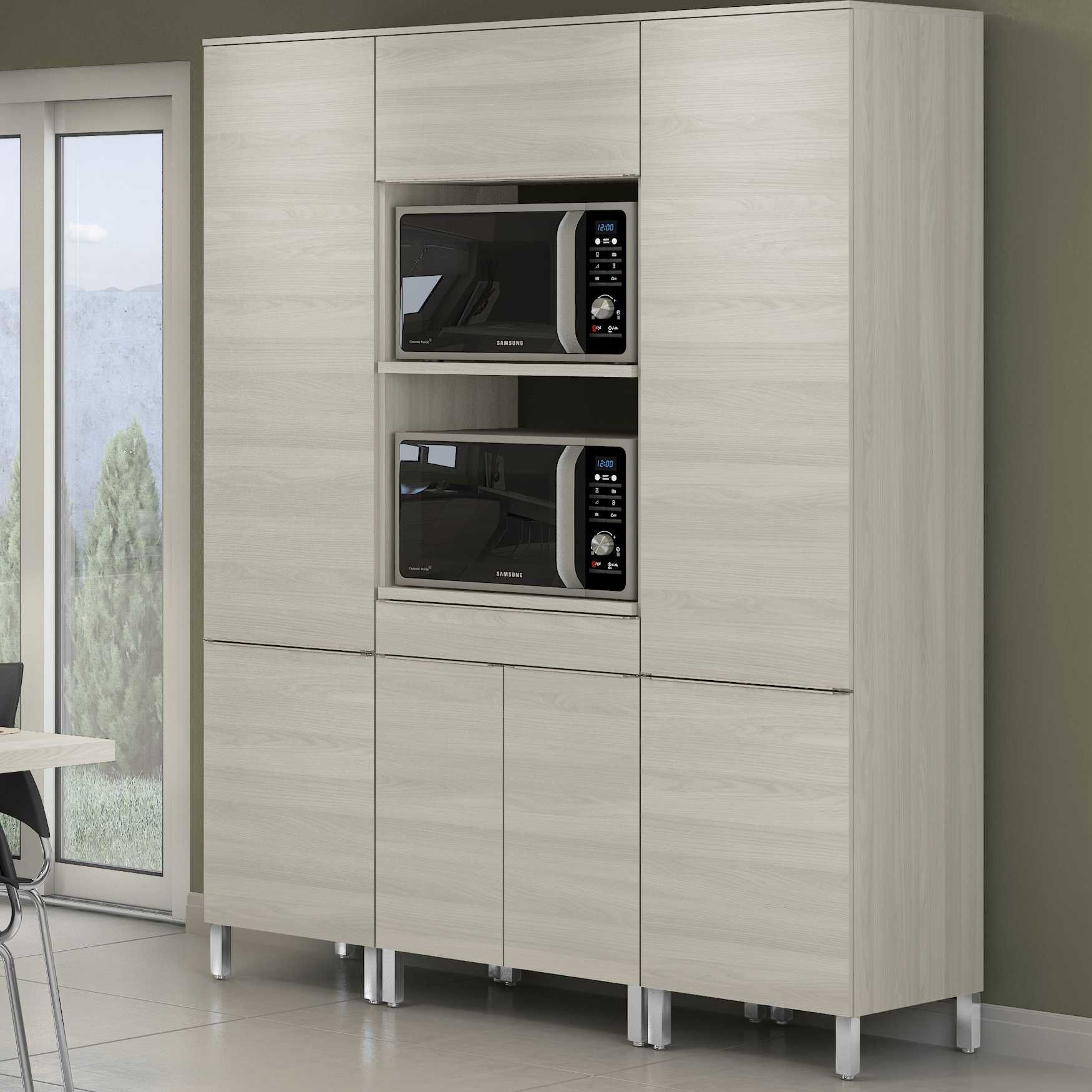 Armário de Cozinha Torre para 2 fornos Versatti C646 Kappesberg