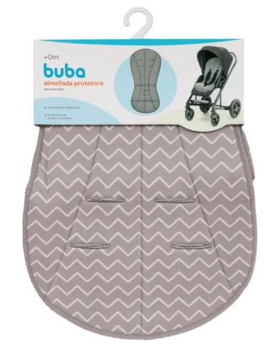 Almofada Protetora para Carrinho de Bebê Zig Zag Buba Baby