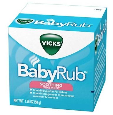 Baby Rub Vicks Soothing 50g 3 meses+