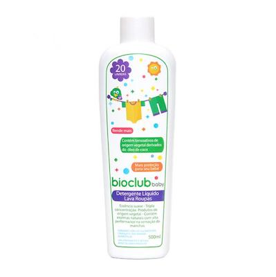 Bioclub Baby Detergente Líquido para Roupas de Bebês 500ml