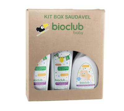 Bioclub Baby Kit Box Lava Roupas