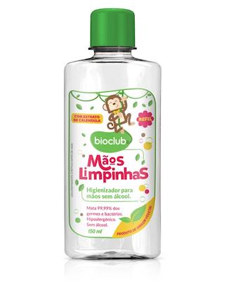 Bioclub Baby Refil Higienizador para Mãos sem Álcool 200ml