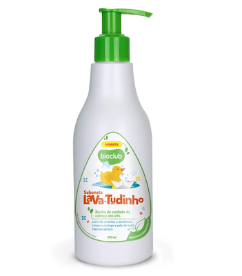 Bioclub Baby Sabonete Líquido Infantil Lava Tudinho 300ml