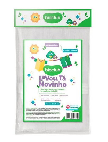 Bioclub Baby Saco para Lavagem Roupas de Bebês