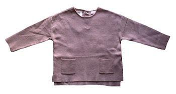 Blusa de Lã com dois bolsinhos Zara