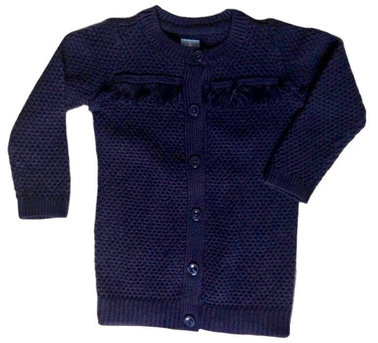 Blusa de Lã com Franjas Gap