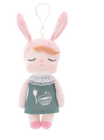 Boneca Angela Metoo Mini Chaveiro Verde