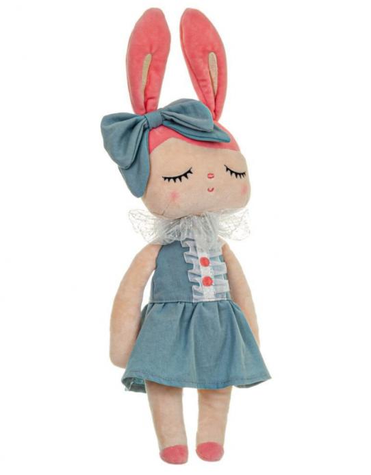 Boneca Metoo Angela Liz Azul 33cm