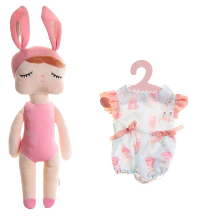 Boneca Metoo Fashion Kit com Roupa Brincadeira