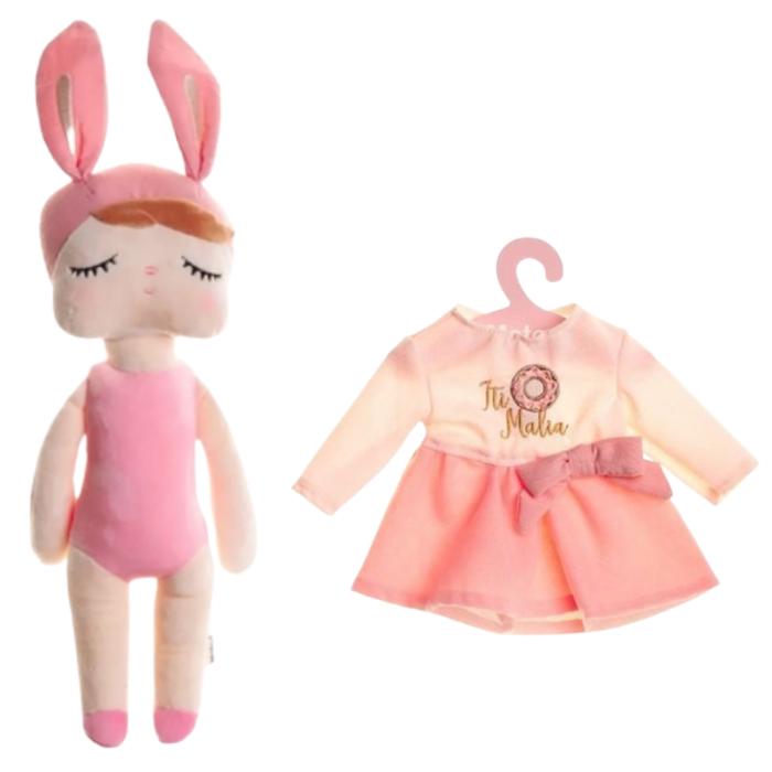 Boneca Metoo Fashion Kit com Roupa It Malia