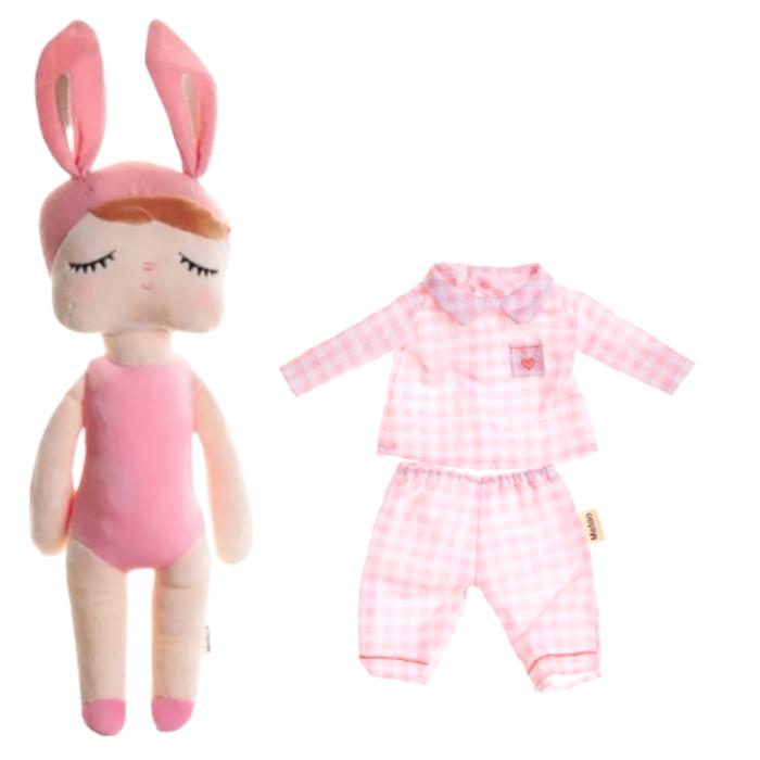 Boneca Metoo Fashion Kit com Roupa Pijama