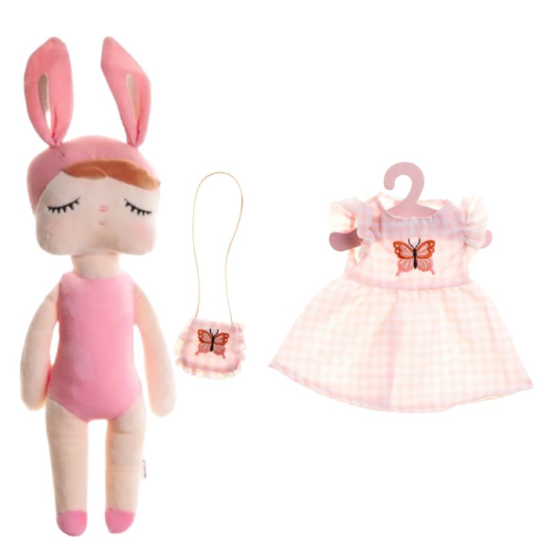 Boneca Metoo Fashion Kit com Roupa Princesa