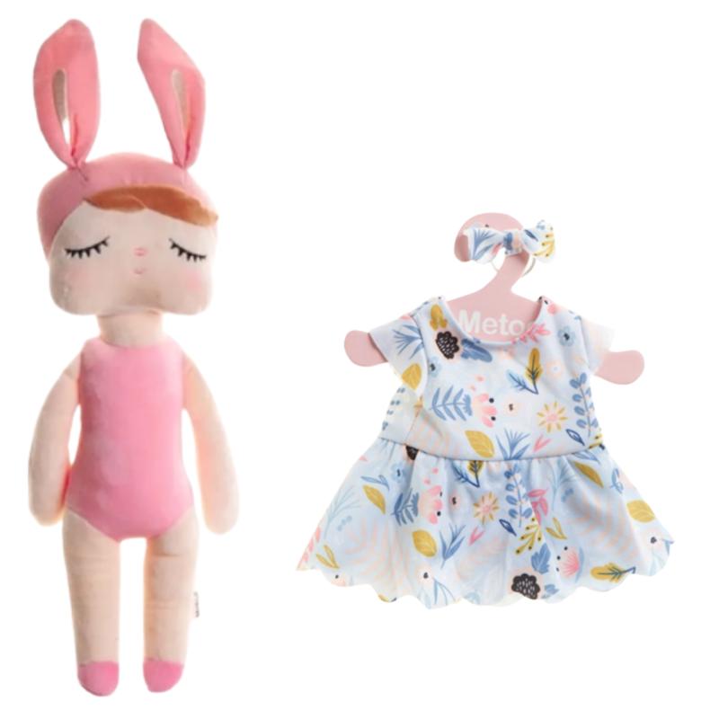 Boneca Metoo Fashion Kit com Roupa Vestido de Festa
