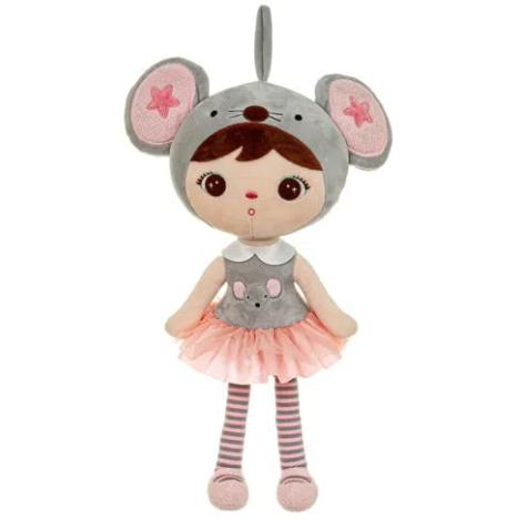 Boneca Metoo Jimbao Ratinha 50 cm
