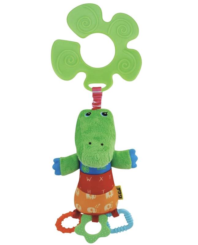 Brinquedo para Pendurar em Carrinhos Crocodilo K's Kids