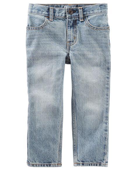 Calça Jeans clara Straight Reta OshKosh