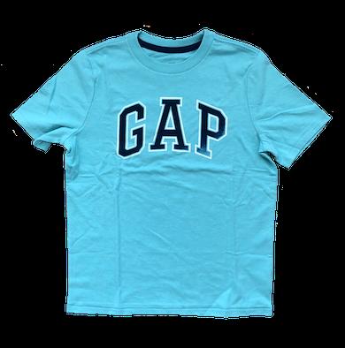 Camiseta Básica Gap Infantil Azul