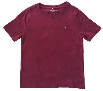 Camiseta Básica Tommy Hilfiger Vinho