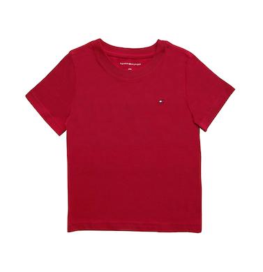 Camiseta Básica Vermelha Tommy Hilfiger