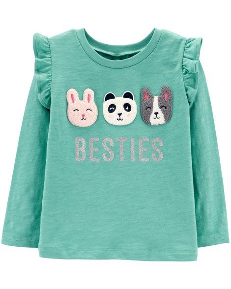 Camiseta Besties Carter's