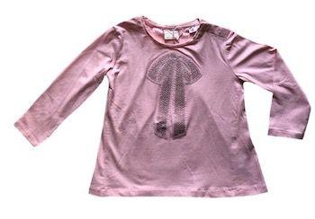 Camiseta Bordada com Paetê Zara Rosa