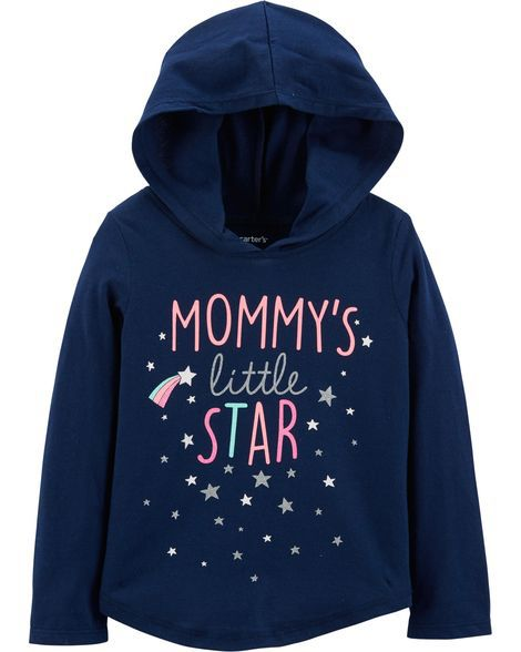 Camiseta com Capuz Mommy's Little Star Carter's