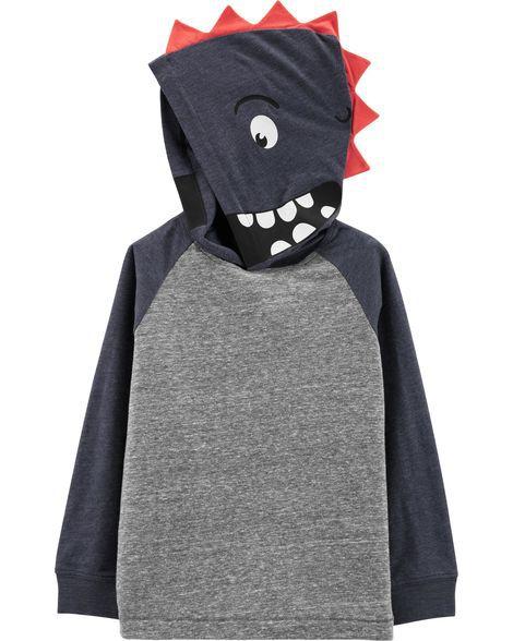 Camiseta com Capz Dinossauro Carter's