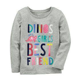 Camiseta Dinos Girl's Carter's