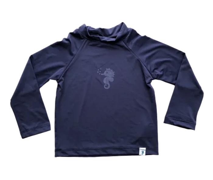 Camiseta Ecoeplay para Praia FPS 50+ Azul marinho