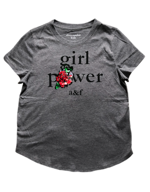 Camiseta Girl Power Abercrombie