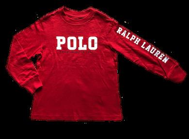 Camiseta Logo na Manga Polo Ralph Lauren