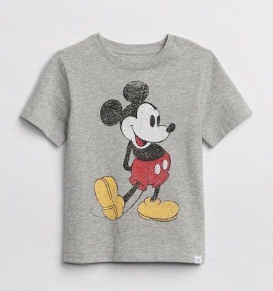 Camiseta Mangas Curtas Mickey Gap