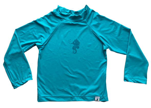 Camiseta para Praia Ecoeplay FPS 50+ Azul Turquesa
